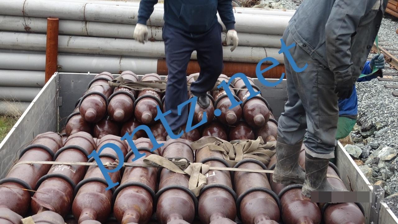 поставка газовых баллонов